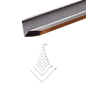Pfeil # 13 Sweep Straight V-Parting Tool