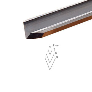 Pfeil # 15 Sweep Straight V-Parting Tool