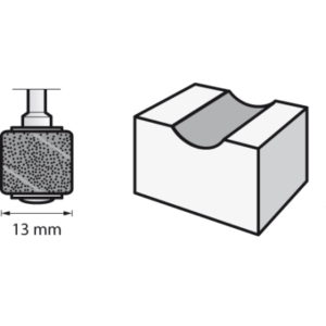 Dremel Sanding Bands 13mm 120 Grit (432)