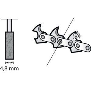 Dremel Chainsaw Sharpening Grinding Stone 4.8mm (454)