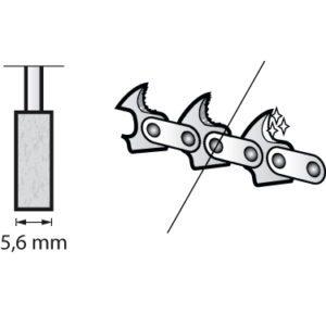 Dremel Chainsaw Sharpening Grinding Stone 5.6mm (455)