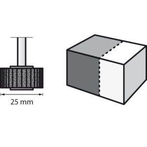 Dremel Flap Wheel 28.6mm 80 Grit (502)
