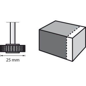 Dremel Flap Wheel 28.6mm 80 Grit (504)