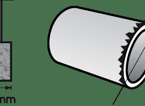 Dremel Aluminum Oxide Grinding Stone -Cylinder 9.5mm (932)