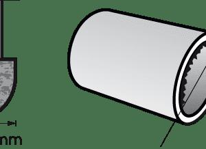 Dremel Aluminum Oxide Grinding Stone Bull Nose 9.5mm (952)
