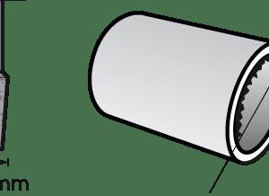 Dremel Aluminum Oxide Grinding Stone Pointed 3.4mm (997)