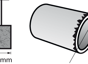 Dremel Aluminum Oxide Grinding Stone – Cylinder 15.9mm (8193)