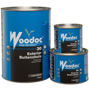Woodoc 30 Clear Low Gloss Exterior Polywax Sealer