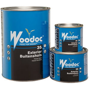 Woodoc 35 Tinted Low Gloss Exterior Polywax Sealer