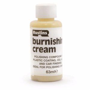 Rustins Plastic Coating Burnishing Cream