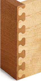 Leigh Key & Mirror Key Isoloc Joint Templates for D-series Dovetail Jigs