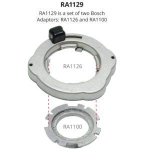Leigh Bosch RA1129 Template Guide Set