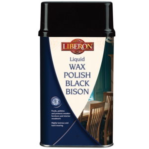 Liberon Liquid Wax Polish Black Bison