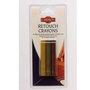 Liberon Retouch Crayons 3 Pack