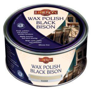 Liberon Wax Paste Polish Black Bison
