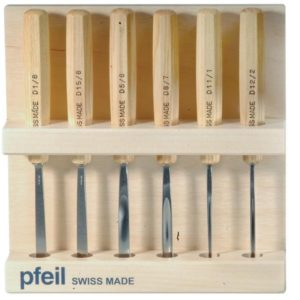 Pfeil 6 Piece Tool Set and Stand