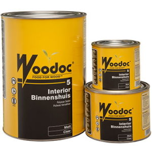 Woodoc 5 Clear Matt Indoor Polywax Sealer