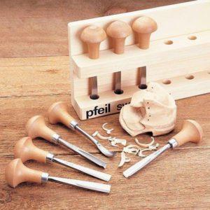 Pfeil 8 Piece Palm Carving Tool Set – B8ER-A