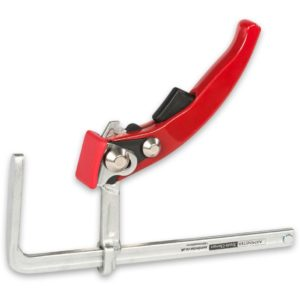 Axminster Trade Clamps Forged Quick Lever Guide Rail Clamp