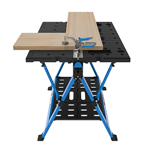Kreg Mobile Project Work Center with Automax Bench Clamp