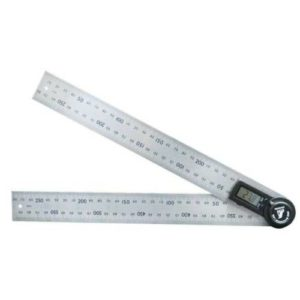 Shinwa Digital Protractor 300mm with Hold Function