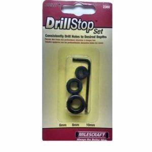 Milescraft 3 Piece Metric Drill Stop Set