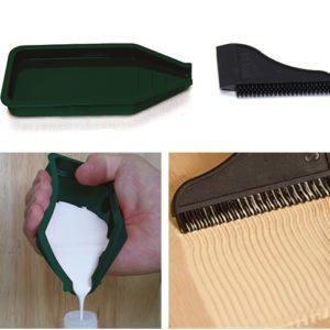 Silicone Glue Tray Kit