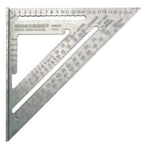 Swanson Metric Speed Square 25cm