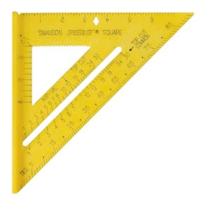 Swanson Speedlite Square Yellow