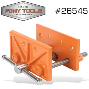 Pony 6-1/2 Inch Light Duty Woodworkers Vice