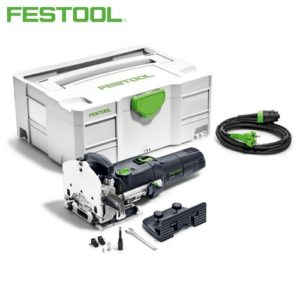 Festool FES574325 Domino DF 500 Q-PLUS Domino Cutter D5 with additional stop, open ended spanner, WAF 8 in Systainer