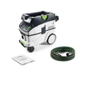Festool FES574947 CTL 26 E Mobile Dust Extractor – Filter / Bag Capacity 26L – 1200W – Self Clean Filter