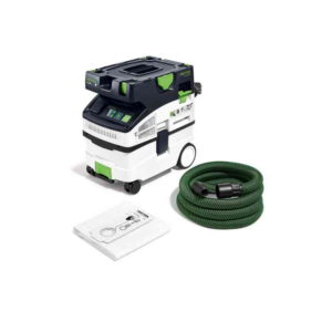 Festool FES575443 CTL Midi Mobile Dust Extractor – 1200W – Filter / Bag Capacity 15/12.5L – Manual Clean Filter