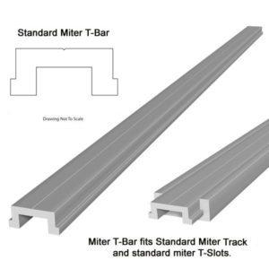 Aluminium Mitre Bar 1.2m