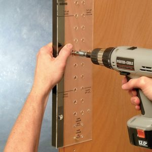 Shelfpin Drilling Jig (mm)