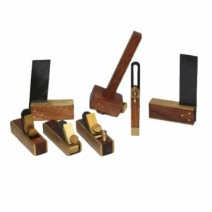 Miniature Woodworking Kit 7Pcs