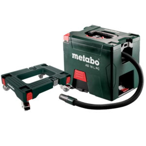 Metabo AS 18 L PC C/Less Vacuum Cleaner (691060000) – Mobile Trolley Base (Batteries and charger not included)