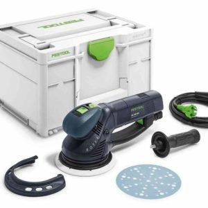 Festool FES576017 ROTEX 150 FEQ-Plus Geared Eccentric Sander – Sanding Pad 150mm Ø – 720W (New Design Systainer)