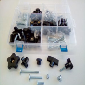 Jig Hardware Kit – 6mm – 129 Pieces